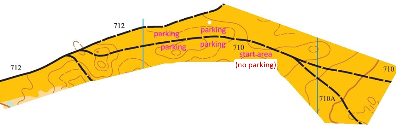 Day 3 parking map.